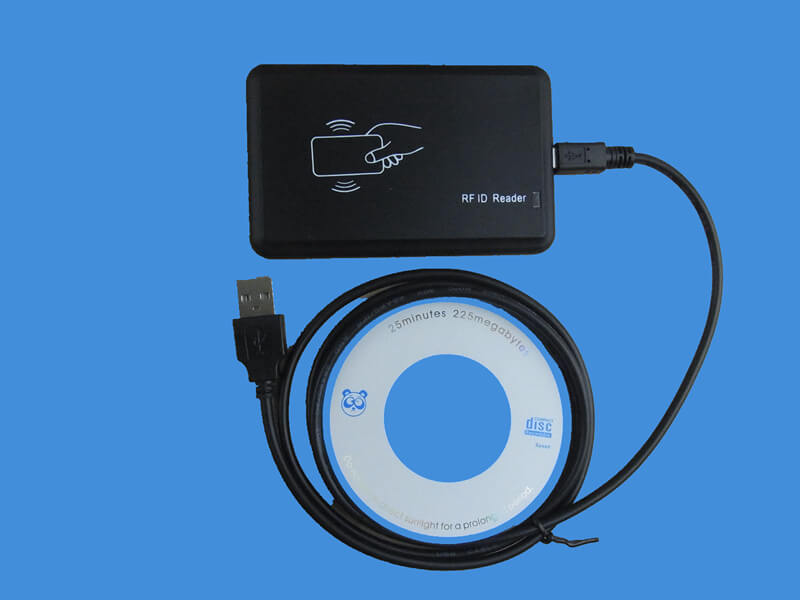 how to use qpic card reader writer