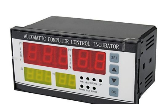 Incubator controller temperature and humidity