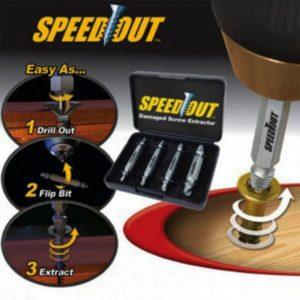 Speedout damaged screw ectractor