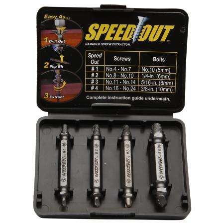 speedout damaged screw remover