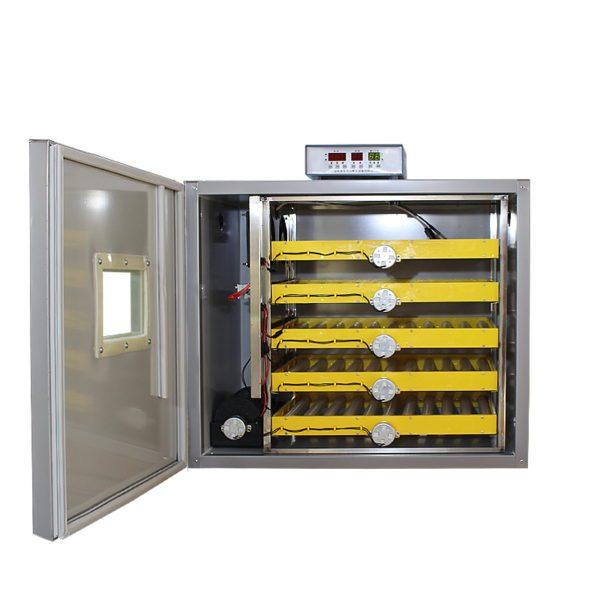 LK685-Stainless-Steel-Automatic-Egg-Incubator-DC12V-AC220V-160W-Intelligent-Controller-Incubator-300-Eggs-Industrial-Egg
