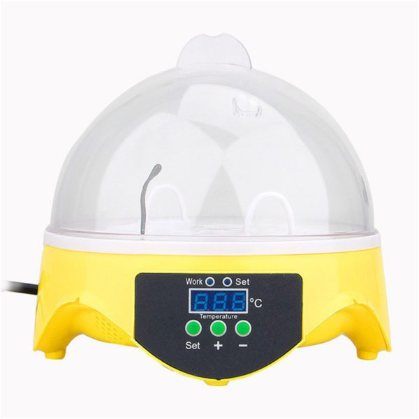 Mini-7-Egg-Incubator-Poultry-Incubator-Brooder-Digital-Temperature-Hatchery-Egg-Incubator-Hatcher-Chicken-Duck-Bird