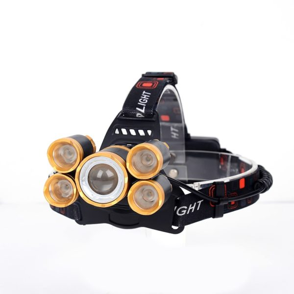 40000 lumens bicycle headlamp cycling headlight LED