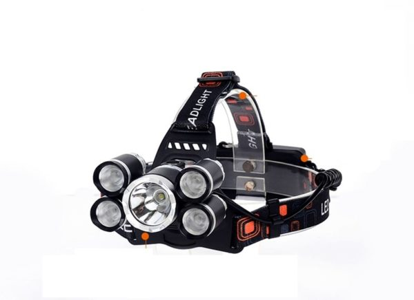 Cycling head lamp light