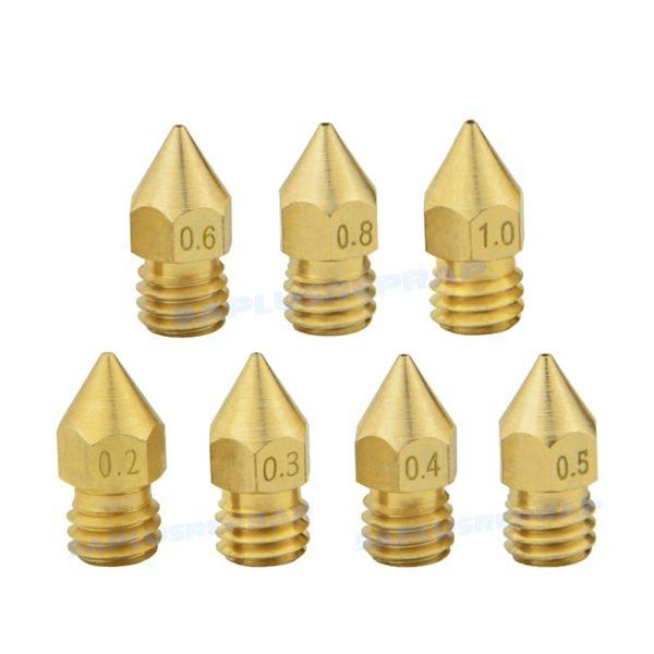 MK8 Brass Nozzle Extruder