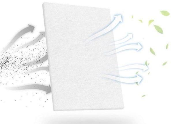 cpap foam filter